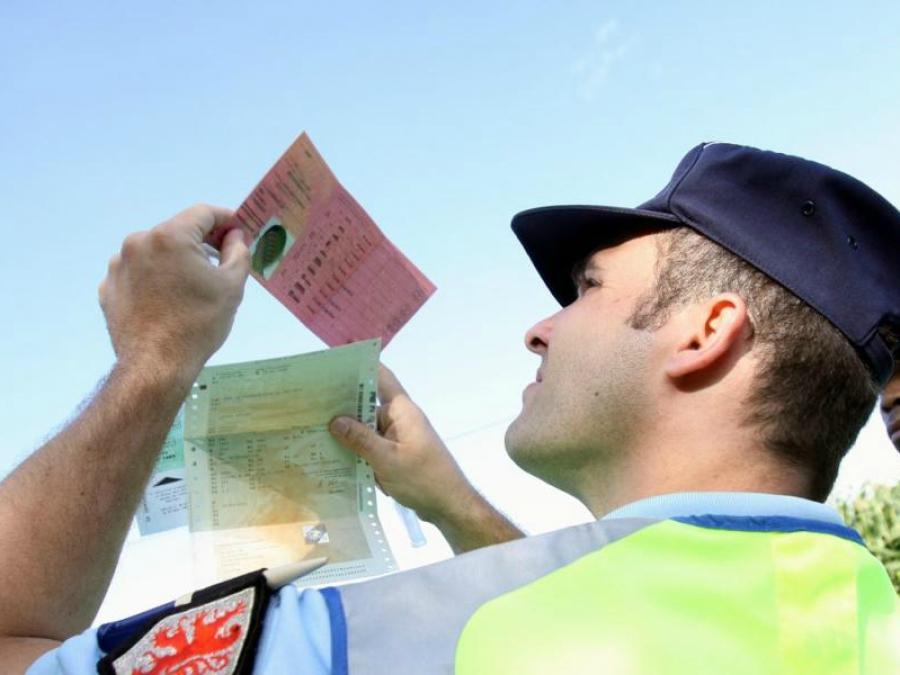 Permis de conduire Points Police